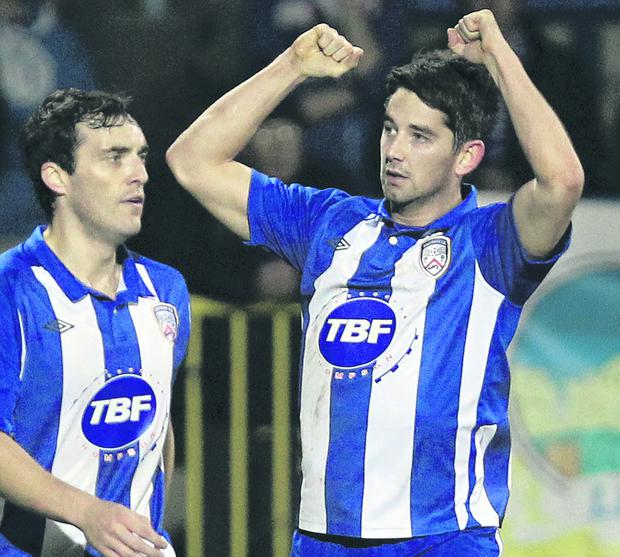 Curtis Allen is hoping Coleraine can extend their unbeaten run over Ballymena