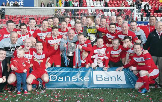 Cliftonville tasted title success in April and want to repeat the feat