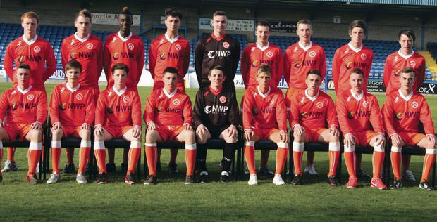 County Armagh Milk Cup Premier squad
