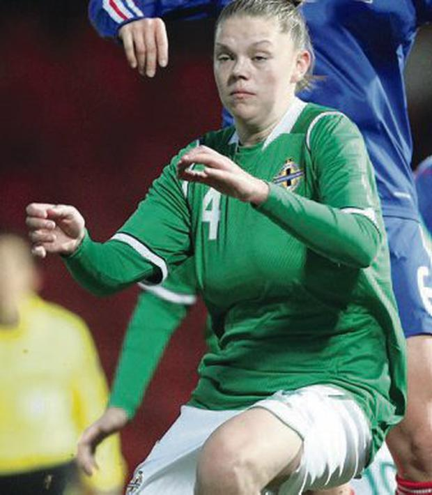 Northern Ireland's Billie Simpson