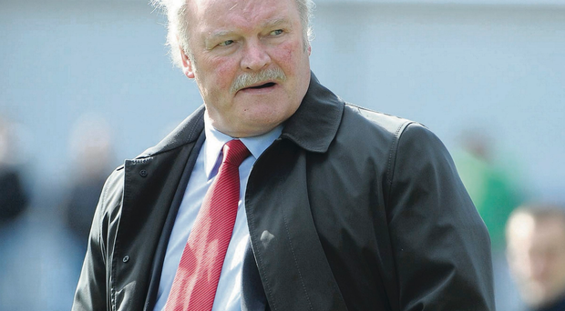 Taking charge: Ronnie McFall is still going strong at Shamrock Park