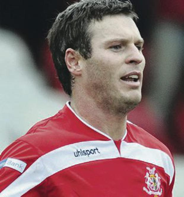 Top drawer: Kevin Braniff has been Portadown's key man