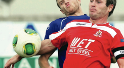 Kevin Braniff has left Portadown and will head to Australia this week
