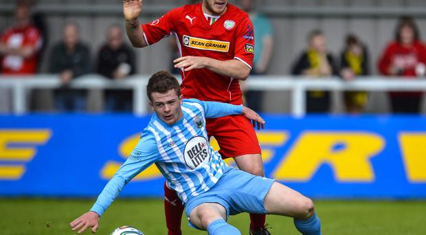 Room for improvement: Jaimie McGovern admits Cliftonville can play far better than they did against Warrenpoint Town