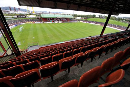 Final say: The Irish Cup final will be staged at The Oval
