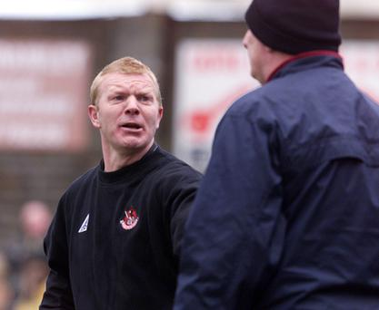 Back on board: Former Linfield favourite Alan Dornan has joined the Blues coaching staff