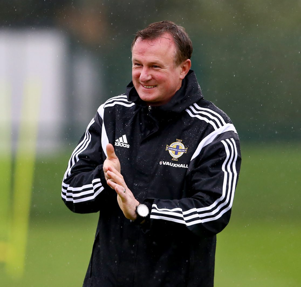 Final call: Michael O'Neill could be about to follow in the footsteps of Peter Doherty and Billy Bingham