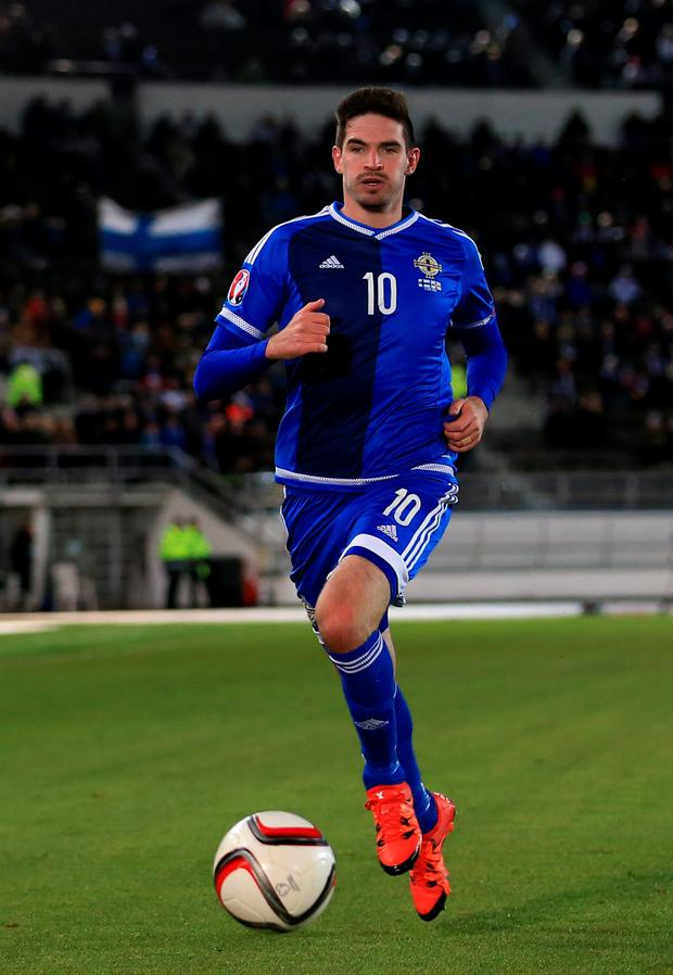 Star man: Kyle Lafferty will be a crucial figure in France