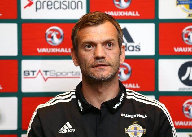 Goalkeeper Roy Carroll