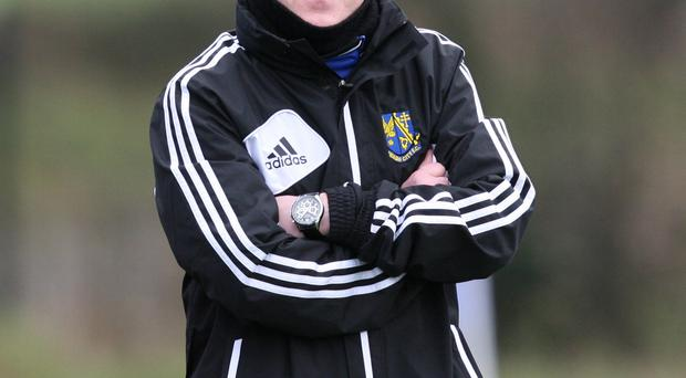 Up for the cup: Armagh City manager Marty Rice