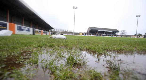 Taylors Avenue has suffered more than its fair share of inclement weather