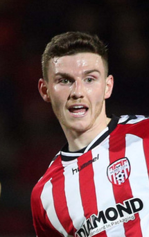 Solid start: Harry Monaghan has impressed for Derry City