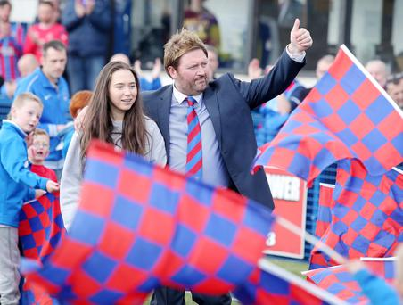 Ards boss Niall Currie