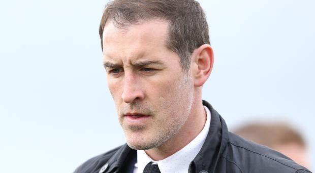 Gary Haveron served the wrong game in a suspension but Warrenpoint are still relegated