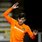 Oval bound: Aaron Smyth has joined Glentoran from Carrick Rangers