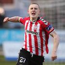 Derry City's Ronan Curtis