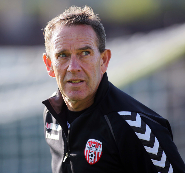 Derry City manager Kenny Shiels is urging his team to steal third place from Shamrock Rovers to end the season on a high