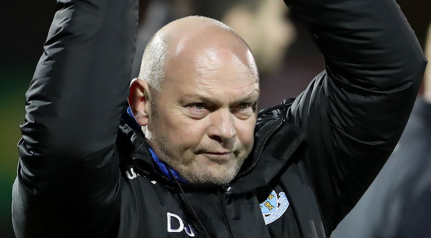 Applause all round: David Jeffrey is set for a warm welcome as he returns to Windsor Park