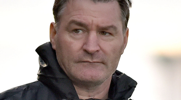 Crucial clash: Carrick Rangers manager Aaron Callaghan