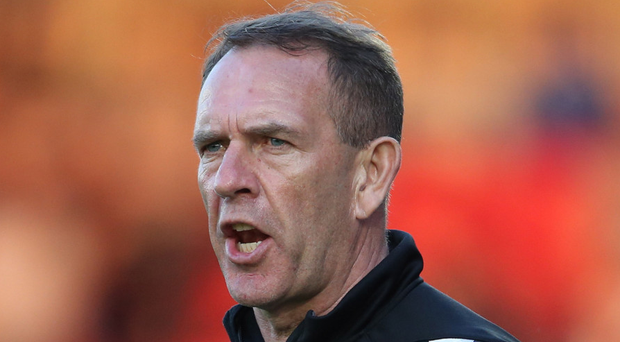 Twelfth man: Kenny Shiels wants Derry's supporters to make Maginn Park a tough place for away sides to visit this year