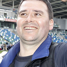 Winning combination: David Healy has won another honour
