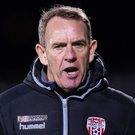Bare bones: Kenny Shiels has injury and suspension worries