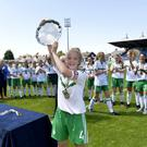 Silver lining: Northern Ireland captain Emma McMaster
