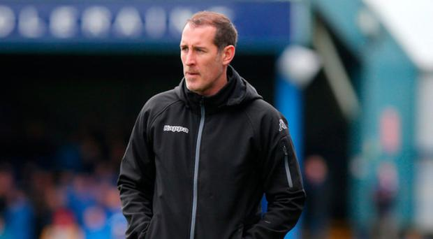 Waiting game: Gary Haveron hopes to strengthen squad