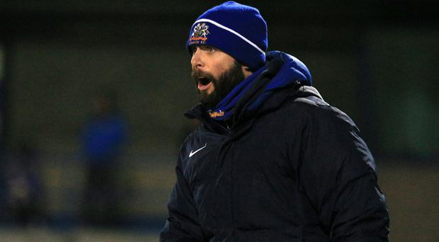 Gary Hamilton has made a double signing for Glenavon