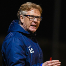 Ballinamallard United manager Harry McConkey