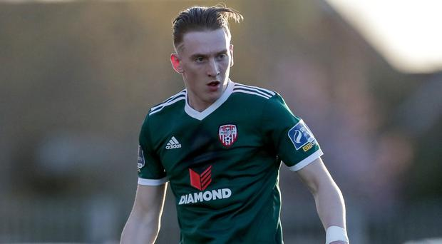 Ronan Curtis in his Derry days