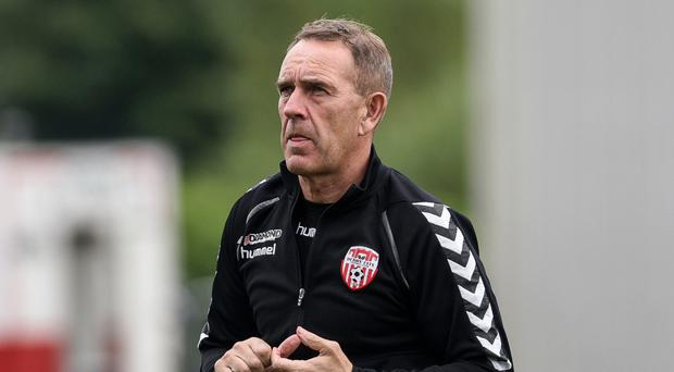 Must win: Kenny Shiels knows this is key time for Derry City