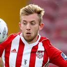 Cup-tied: Derry's Ally Roy is out of tonight's Cup match