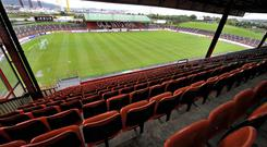 Glentoran aim to redevelop their historic ground, the Oval.