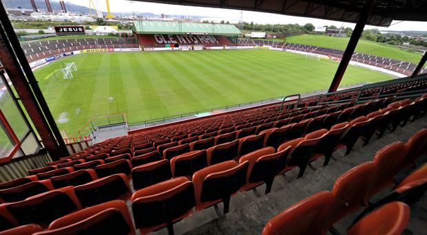 The Oval will host Crusaders v Coleraine.