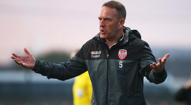 New challenge: Kenny Shiels is the new NI Women's boss