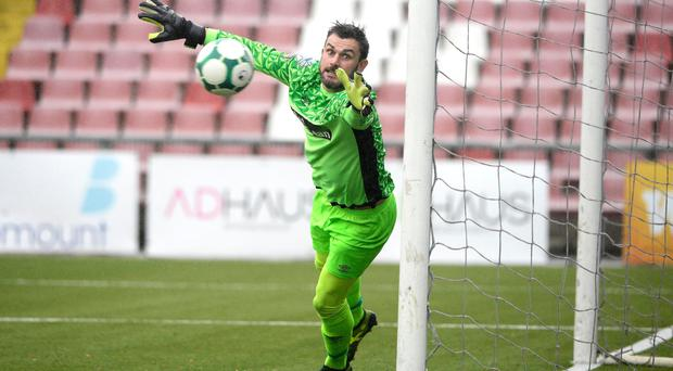 Looking ahead: Elliott Morris is eager to see the takeover of Glentoran given the green light so that significant investment can be made in an effort to get the club back on the right track