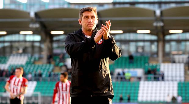 More to come: Derry City manager Declan Devine