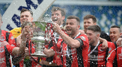 Irish Cup winners Crusaders are seeded for the Europa League first qualifying round draw