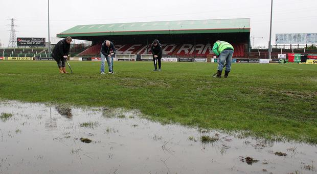 Weather warning: Glens' 3G pitch plans may be scuppered