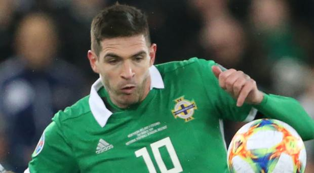 New challenge: Kyle Lafferty is excited by his latest move
