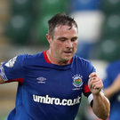Linfield captain Jamie Mulgrew