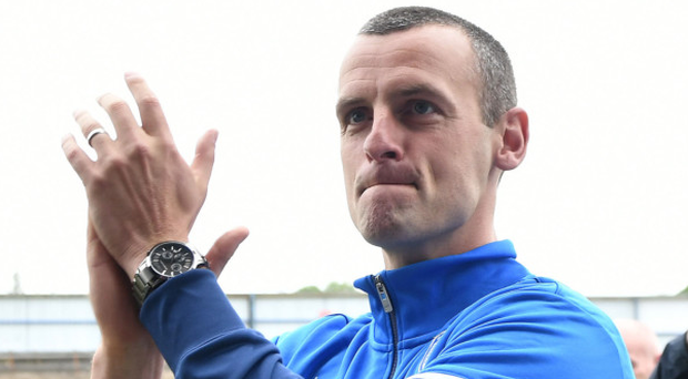 Eyeing the victory: Coleraine manager Oran Kearney