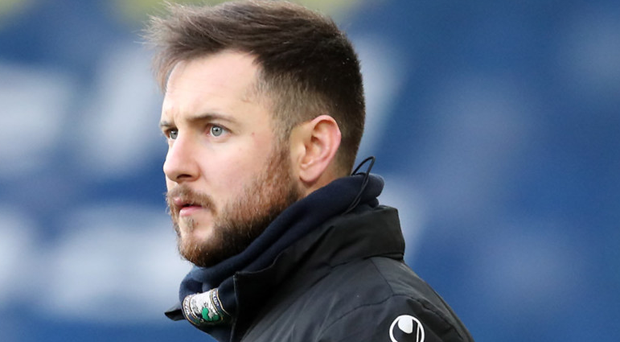 Angry: Stephen McDonnell is unhappy with his side