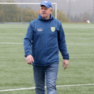 Moving forward: Joe McAree at Dungannon United Youth's stadium