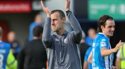 Golden touch: Coleraine boss Oran Kearney weaving his magic for the Bannsiders