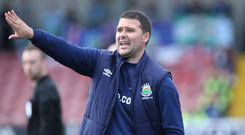 Straight talk: David Healy has admitted he will make sweeping changes to his side