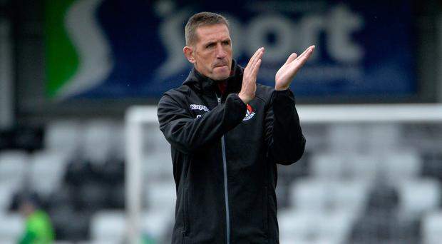 Target: Stephen Baxter is aiming for good run of results