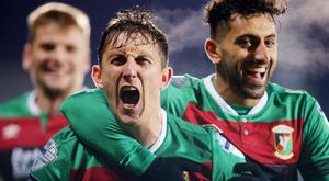On rise: Marcus Kane believes Glentoran are moving in the right direction