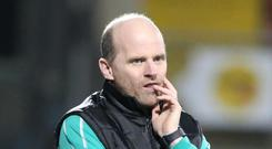Speaking out: Barry Gray says Warrenpoint are on the up